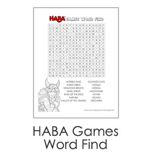 HABA Games Word Find