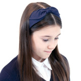 Navy-School-Headband-Model-Image