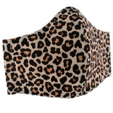 Cream-Leopard-Face-Mask-Image