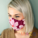 Purple-Flowers-Face-Mask-Product-Image-Model