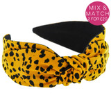 Mustard-Animal-Child-Headband-Image