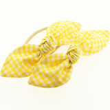 Yellow-Gingham-School-Hair-Bows-Image