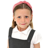 Red-Gingham-School-Headband-Model-Image
