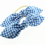 Blue-Gingham-School-Hair-Bows-Image