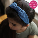 Denim-Child-Headband-Model-Image