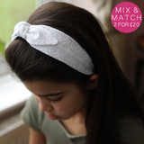 White-Broderie-Anglaise-Headband-Model