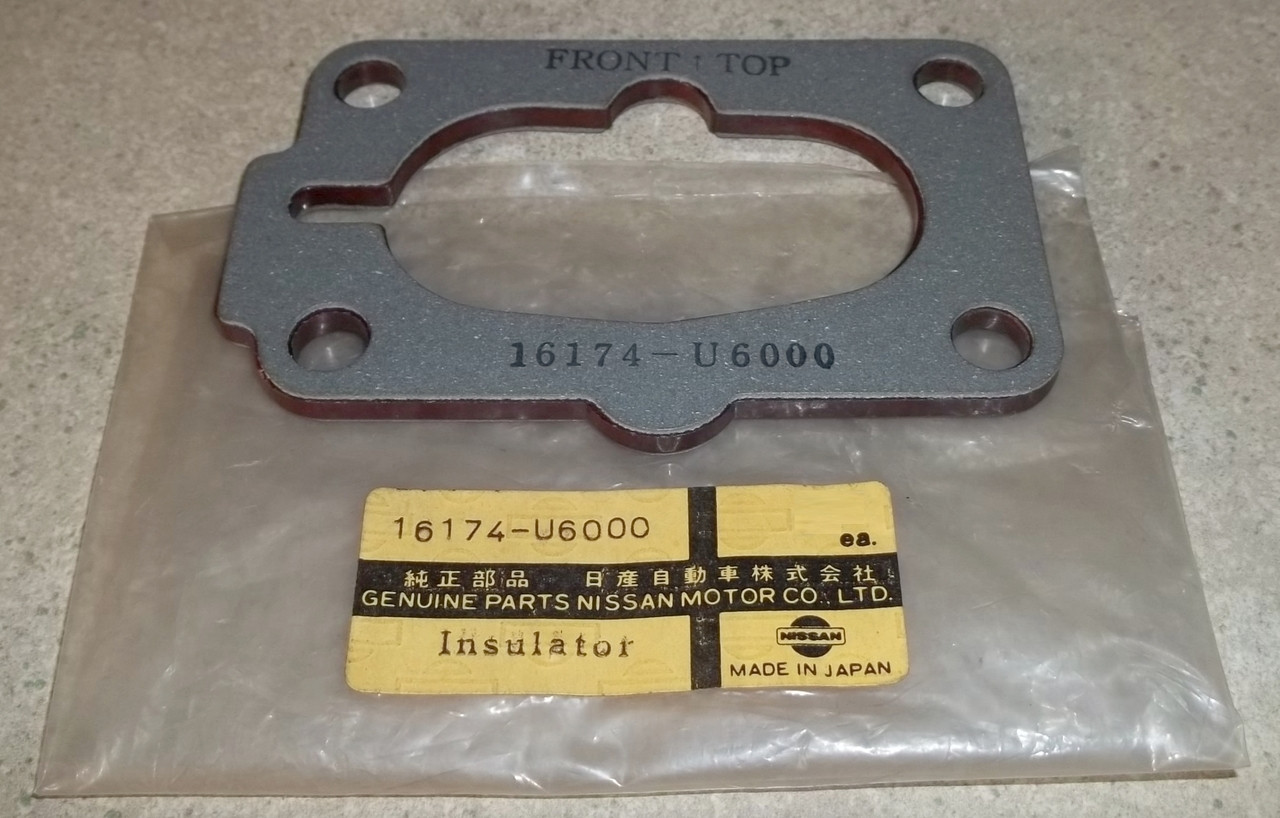 X Carburetor Base Plate Insulator Spacer Plate With Gaskets