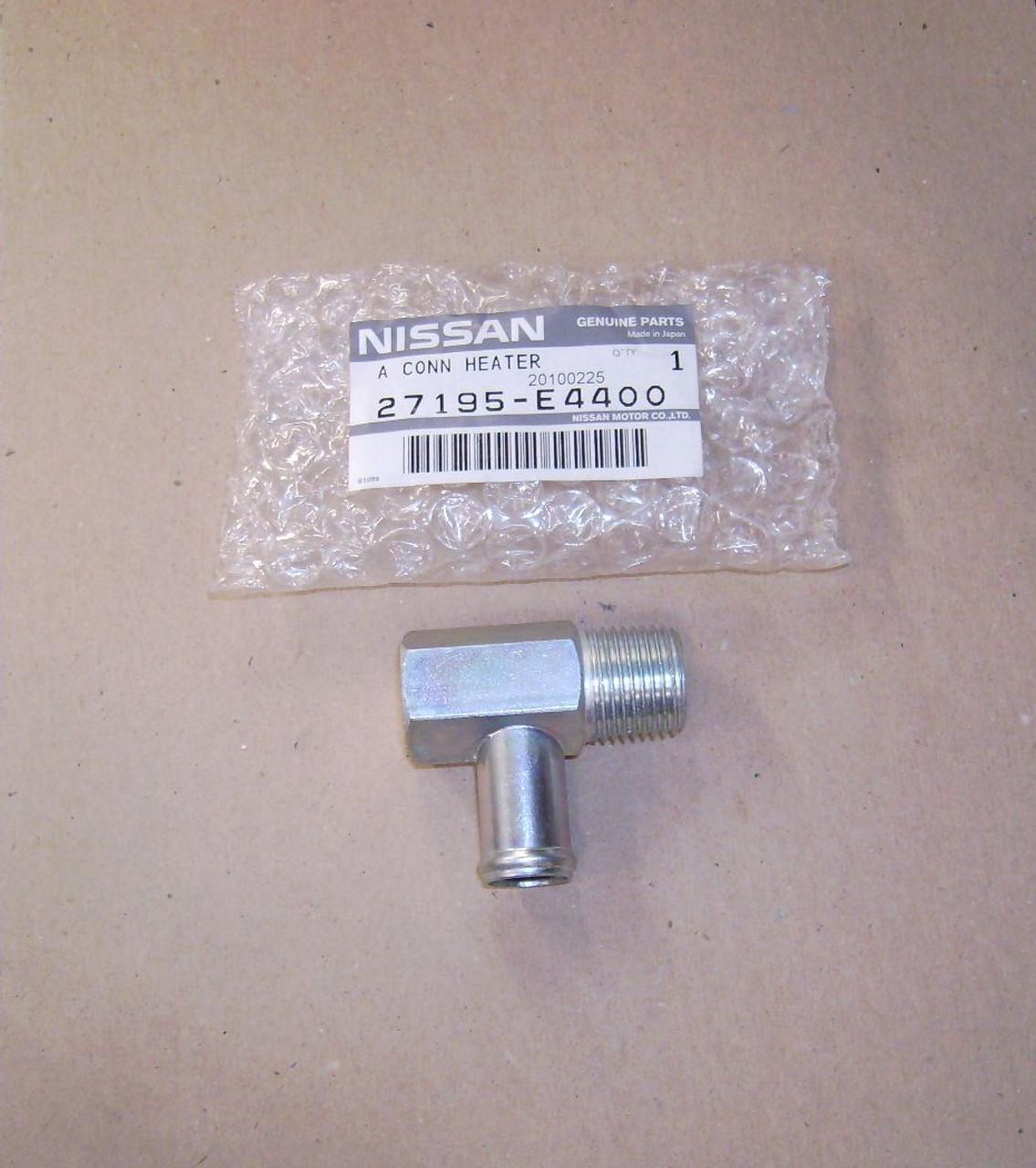 Heater Hose Elbow Fitting Datsun Nissan L6 L24 L26 L28 27195-E4400