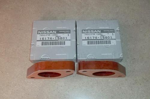 Carburetor Insulator Base Plate Spacer Nissan 720 Pickup