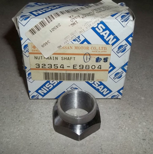 X Main Shaft Nut Datsun Nissan FS5W71B FS5C71B Overdrive & F5C71B Direct Drive 5-Speed 32354-A7400 32354-E9800 32354-E9802 32354-E9804