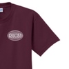 '80 Minutes, 15 Positions' Tee, Maroon