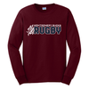 MB Rugby Tee, Maroon