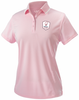 Rugby Illinois Ladies-Cut Performance Polo, Pink