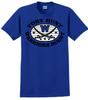 Warriors Rugby Cotton Tee, Royal Blue