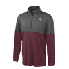 Salisbury Rugby Colorblocked 1/4-Zip PolyStretch Pullover
