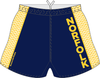 Norfolk Storm Custom Performance Rugby Shorts, Navy