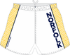 Norfolk Storm Custom Performance Rugby Shorts, White