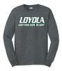 Loyola Rugby Tee, Dark Heather Gray