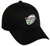 Thorns Rugby Twill Adjustable Hat, Black