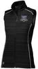 Warriors Poly Fleece Full-Zip Vest