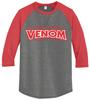 Raleigh Venom 3/4-Sleeve Tee, Coal/Red