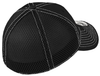 Taft Rugby Stretch Mesh-Back Hat, Black