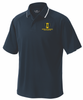 Gotham  Knights Performance Polo, Navy/White