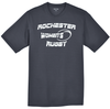 Rochester Renegades Performance Tee, Black