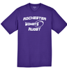 Rochester Renegades Performance Tee, Purple