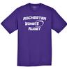 Rochester Renegades Performance Tee, Purple