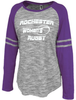 Rochester Renegades Space Dye Ladies-Cut LS Jersey