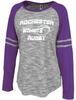 Rochester Renegades Space Dye Ladies-Cut LS Jersey