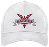 NOVA Eagles Stretch-Fit Mesh-Back Hat, White