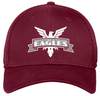 NOVA Eagles Stretch-Fit Mesh-Back Hat, Maroon