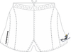 Norfolk Storm SRS Performance Rugby Shorts, White
