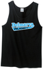 Delmarva Rugby Tank Top, Black