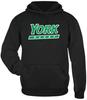 YCP Rugby Performance Fleece Hoodie, Black