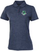 James River Heathered Performance Polo