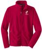 West Potomac Full-Zip Performance Fleece, Red