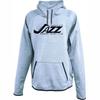 KC Jazz Performance Fleece Hoodie, Heathered blue