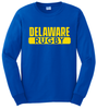 Delaware Rugby Tee, Royal Blue