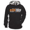 Black Foxes Digi Colorblock Performance Fleece Hoodie