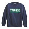 NEP Irish Fleece Crewneck, Navy