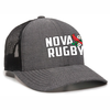 NOVA RFC Black Mesh-Back Adjustable Hat