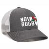 NOVA RFC White Mesh-Back Adjustable Hat