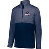 Robert Morris 1/2-Zip Quilted Pullover