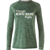 Chicago North Shore Performance Tee, Heathered Forest
