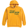 Chicago North Shore Hoodie, Gold