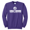 Sunday Morning Rugby Fleece Crewneck
