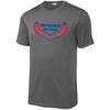 Shippensburg RFC Performance Fabric T-Shirt, Gray